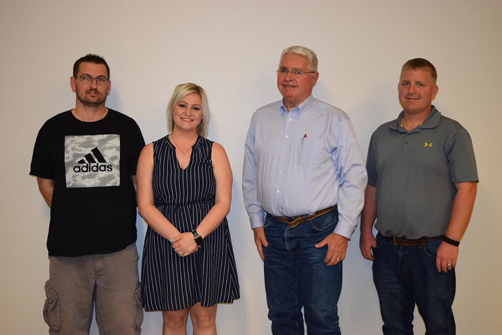 Top Winners: Ray Heimsness (1), Nicole Heimsness (4), Tom Hedden (2), Kent Aumann (8); Not pictured – Robert Yoder (3), John Blakeman (5), Jon Alford (6), Bob Grundy (7)