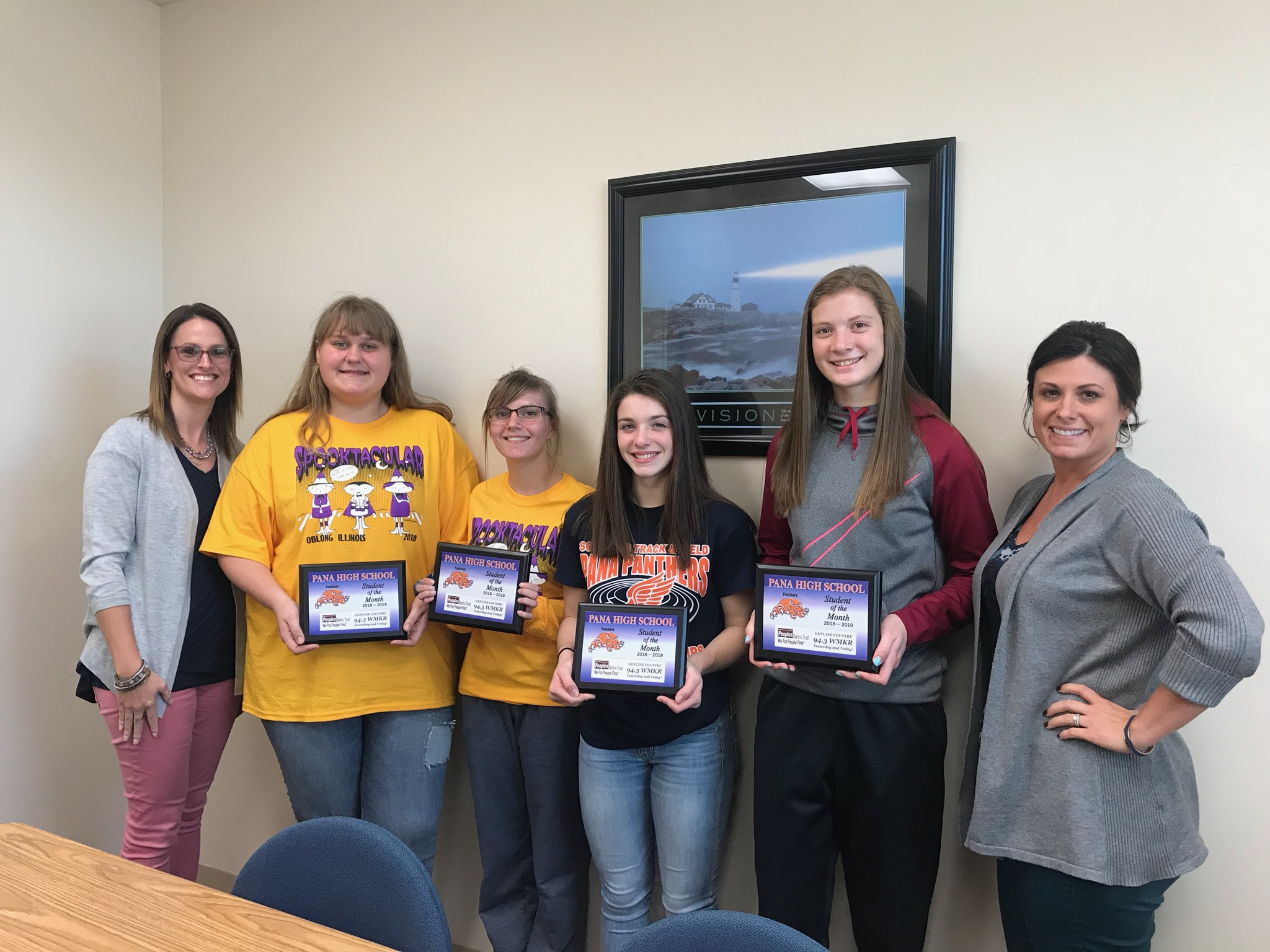 Peoples Bank Trust Wmkr November Students Of The Month