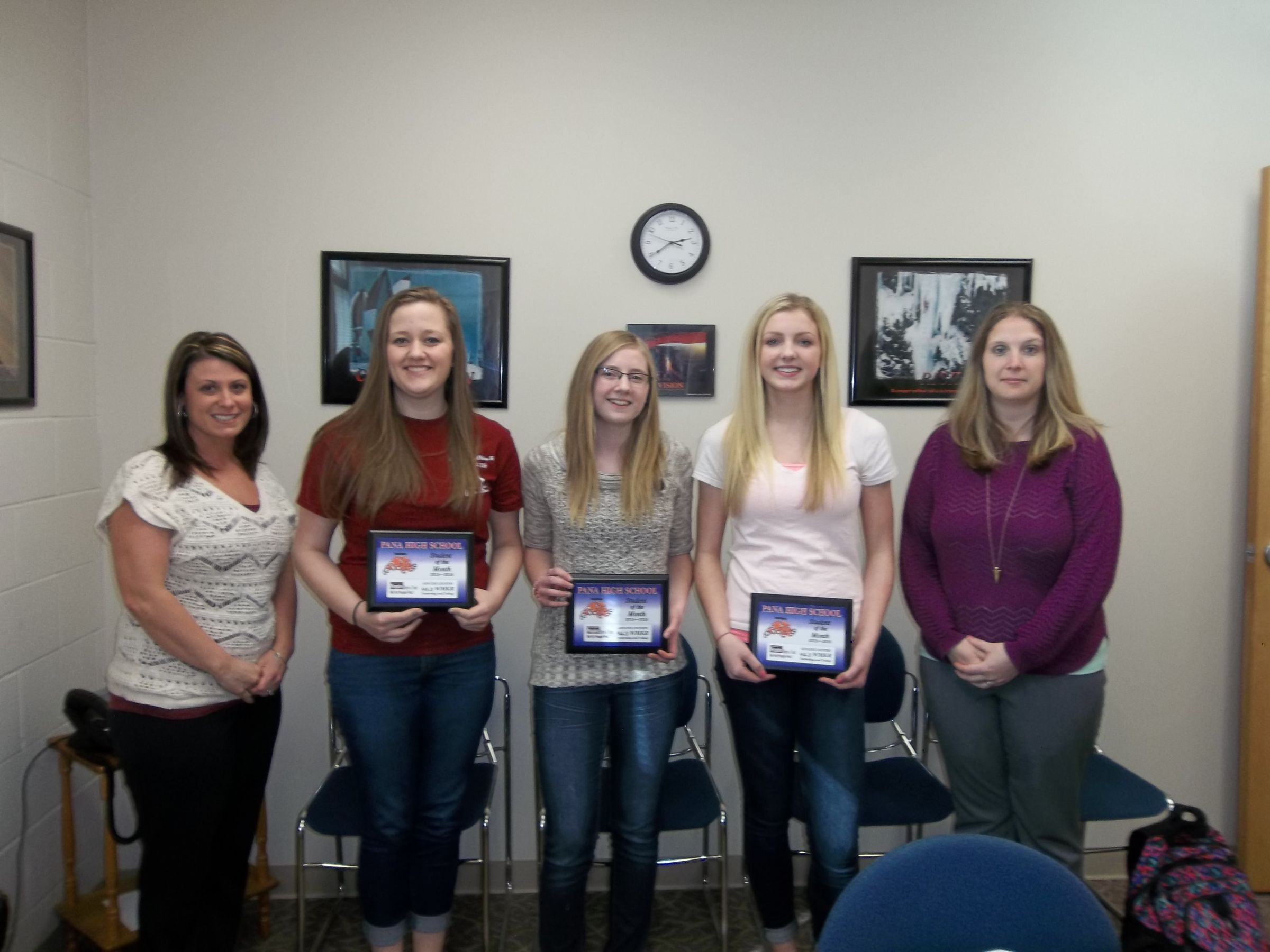 Pana High School Students Of The Month Announced