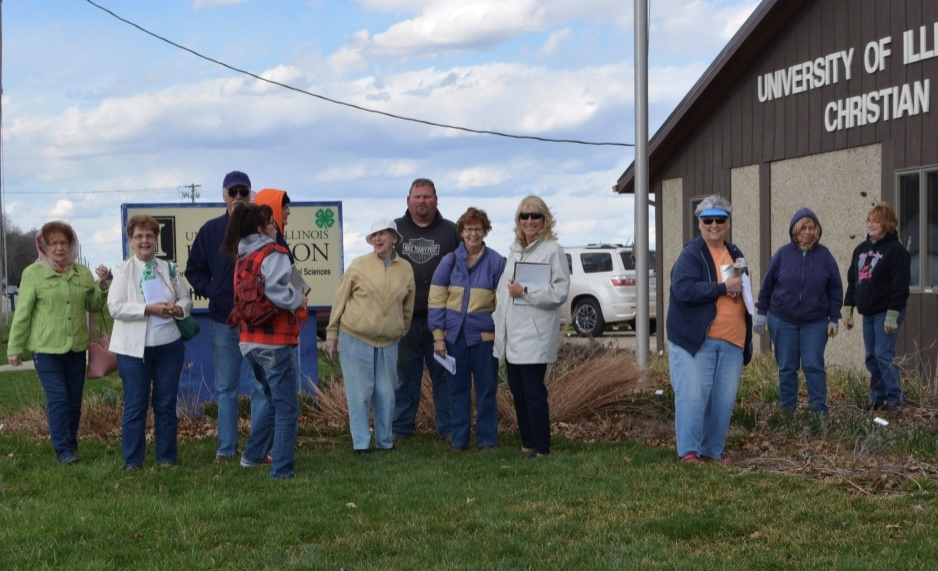 Christian County Master Gardeners Host Spring Landscape Workshop